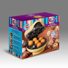 cake pop maker nostalgia jfd100 cake pop donut bakery with 25