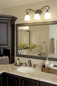 diy bathroom mirror ideas diy bathroom mirror frame ideas three white shade sconces