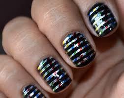 16 superb striping tape nail art designs