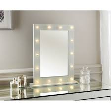 Glass Vanity Table With Mirror All Glass Dressing Table Mirror By Decorative Mirrors