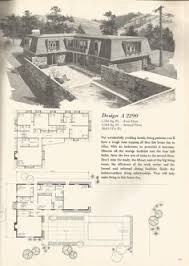 Mid Century House Plans Vintage House Plans Mid Century Homes House Plans Pinterest