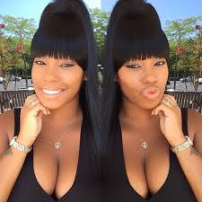 swoop ponytail hairstyles 20 great ponytails with bangs inspiration ideas