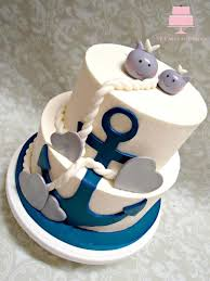 nautical baby shower cakes nautical baby shower cake cake by yb cakes and more cakesdecor