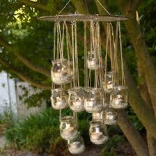 Garden Candle Chandelier Outdoor Hanging Candle Chandelier Diy Home Decor Pinterest
