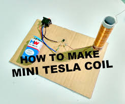 tesla coil how to make a miniature tesla coil 3 steps with pictures