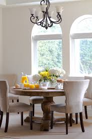 Kitchen Table Chandelier Round Kitchen Table Sets Dining Room Traditional With Chandelier