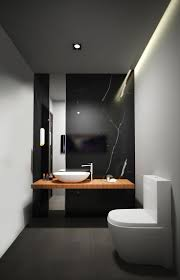 how black marble can make your home more glamorous another small bathroom that feature black marble wall