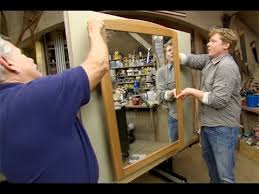 How To Hang A Wall Mirror How To Hang A Heavy Mirror This Old House Youtube
