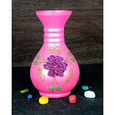 3d Flower Vase 8 Inch Surahi 3d Flower Glass Flower Vase Katkaria Creations