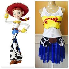 jessie toy story inspired cowboy cowgirl fit4aprincessshop