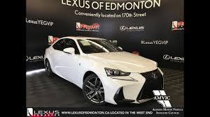 lexus north west uk white 2017 lexus is 300 f sport series 1 walkaround review south