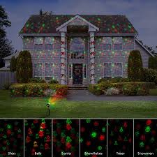 christmas laser lights for house 12 xmas patterns christmas laser projector light rf remote shower
