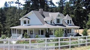 elegant wrap around porch house plans craftsman front elevation