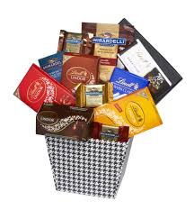 ghirardelli gift basket baskets by on occasion chocolate addiction gift basket walmart