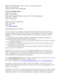 syllabus doc mathematics 1029 with ledet at louisiana state