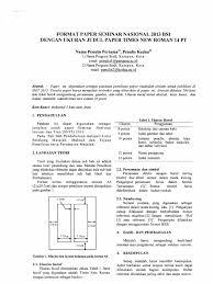 artikel format paper ilmiah contoh contoh jurnal ilmiah erectronic