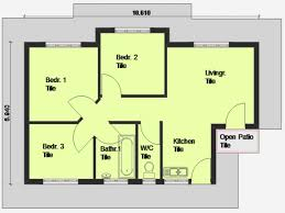 Three Bedroom House Plans by Bedroom House Plan 3 Bedroom House Plan South Africa House Plans