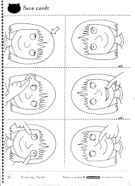 french body parts worksheets kids coloring europe travel