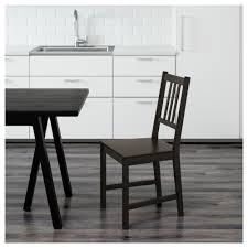 stefan chair brown black ikea