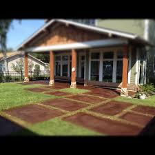 Stain Concrete Patio by Esr Decorative Concrete Experts Project Photos Esr Decorative
