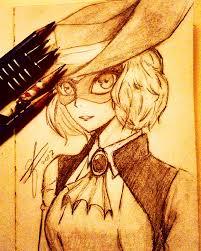 haru okumura fan sketch persona5