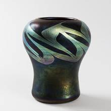 Tiffany Favrile Glass Vase Tiffany Lamp Art Nouveau Decorative Arts