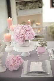 deko in grau grau pink design deko tisch hochzeit dekoration