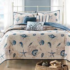 Beach Themed Comforter Sets King Seashell Comforter Ebay