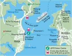 New Zealand Map Port Maps U2013 Leisure Tours Cruise Excursions U2013 New Zealand Shore Trips