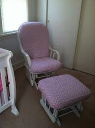 Pink Rocking Chair For Nursery Pink Glider For Nursery Thenurseries