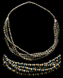 large red beaded necklace images Ancient resource authentic ancient egyptian jewelry for sale jpg