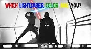 Light Saber Color Meanings Which Star Wars Lightsaber Color Are You