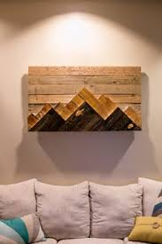 wooden mountain range wall by 234woodworking on etsy pinteres