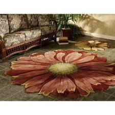 Flower Area - carolina weavers celebration collection twisted garden green area