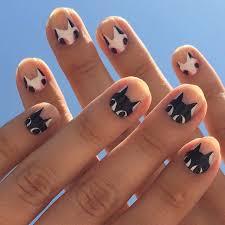131 best cat nails images on pinterest cat nails cat nail art