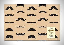 manly wrapping paper mustache gift guide 20 must products to celebrate movember