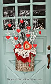 Images Of Valentines Day Decor by Serendipity Refined Blog Simple Diy Valentines Day Door Decor