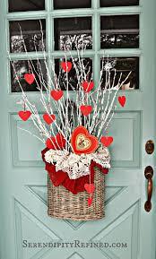 Valentine S Day Door Decor by Serendipity Refined Blog Simple Diy Valentines Day Door Decor
