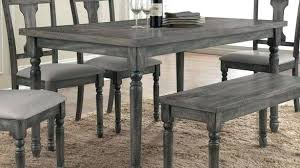 gray dining table with bench exotic gray kitchen table attractive gray kitchen chairs of table