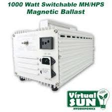 1000w Grow Light Kit Virtual Sun Vs1000wmb 1000 Watt 120v 240v Magentic Grow Light