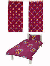 West Ham Duvet Cover Curtains Quilt Covers Ebay
