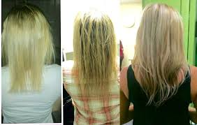 free hair extensions hair growth before and after wearing two sets of our damage free