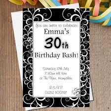 unique birthday invitation tags creative birthday invitation