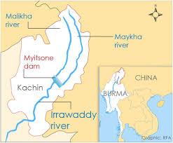 Irrawaddy River Map Salween River Map Ibiza Spain Map