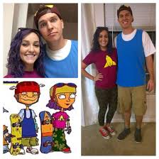 cool family halloween costume ideas rocket power costume 90skids diy halloween pinterest