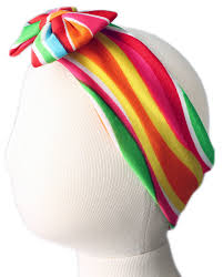 headband with bow multicolor lycra headband with bow lycra headbands
