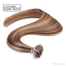 Hair Extensions U Tip by Fashionable P4 27 100ghuman Hair Extensions 20 U0027 U0027 Nail U Tip Ombre