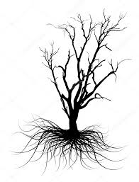 black dead tree silhouette u2014 stock vector baavli 64421975