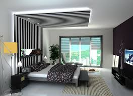 Bedroom Wall Graphic Design Decorating Painting Gypsum Board False Ceiling Designs For Modern