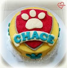 loving creations paw patrol orange chiffon cake